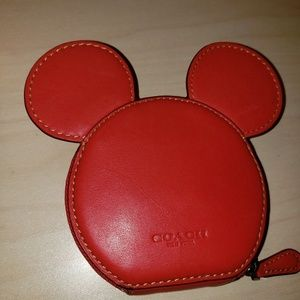 Authentic Mickey Coach coin purse
